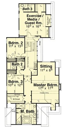 Craftsman Home for a Sloping Lot - 92018VS | 2nd Floor Master Suite, Butler Walk-in Pantry, Corner Lot, Cottage, Country, Craftsman, Jack & Jill Bath, MBR Sitting Area, Media-Game-Home Theater, Narrow Lot, PDF, Photo Gallery | Architectural Designs