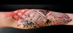 abstract tattoos | abstract tattoo