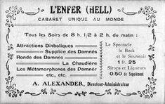 Boulevard de Clichy à Montmartre Cartes postales anciennes et photo d'Eugène Atget pour la dernière image.