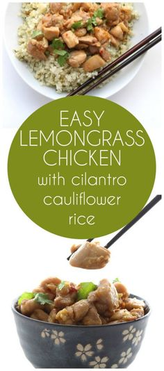 This easy and delicious Lemongrass Chicken is low carb, sugar-free and grain-free. Pair with cilantro cauliflower rice for a healthy springtime meal.