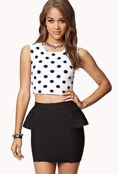 #Forever21                #Skirt                    #Peplum #Bodycon #Skirt   Peplum Bodycon Skirt                                http://www.seapai.com/product.aspx?PID=55525