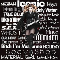 #madonna #rebelhearttour   #MadonnaArtVision by @_aldodiaz