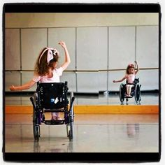 teach a dance class for children with disabilities!