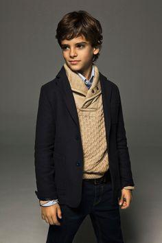 Lookbook december www.massimodutti.com kid boy fashion fall style