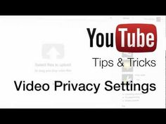Video Privacy Settings. Could be a way to share our videos with parents if we have their permission.