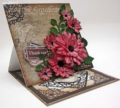 Heartfelt Creations | Coral Thank You Blossoms