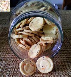 Bisco itos salgados são os meus preferidos! INGREDIENTES: 1 xíc. (200 g) de farinha de...