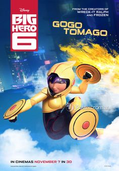 Big Hero 6 new posters !  Source : Jposters   #bighero6 #disney #marvel