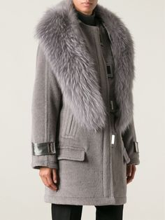 Jason Wu Trimmed Collar Silver-tone Hardware Quilted Lining Coat - Apropos The Concept Store - Farfetch.com