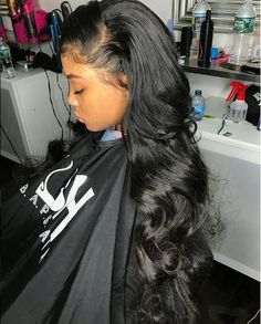 Edges so on fleek! ✨✨✨ great work! #hairstyles #edges #onfleek #naturallook #nicehair #hairfashion #sewin #blackhair #blackgirls #vicbeauty