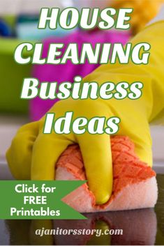Learn how to START and GROW your house and janitorial cleaning business TODAY!  Instant download to FREE CLEANING CHECKLISTS.  cleaning business tips | how to start a cleaning business  #ajanitorsstory #cleaningbusiness Weekly Cleaning, Cleaning Checklist, House Cleaning Tips, Deep Cleaning, Cleaning Hacks, Building Cleaning Services, Cleaning Companies, Cleaning Business, Business Articles