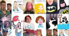 Why You Need to Let a Stranger Draw Your Selfie