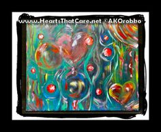"Christmas - Ready to hang acrylic artwork 20"" x 16"" stretched canvas by Dr. Angela Kowitz Orobko"