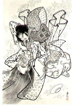 Risultati immagini per japanese demon tattoo