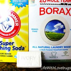 The Perfect {Powdered} Laundry Detergent Recipe!