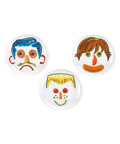 Take a look at the Fred & Friends Boy Dinner Do's Plate Set on #zulily today!