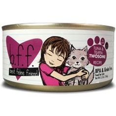 Best Feline Friend Cat Food Tuna  Tilapia Twosome Recipe 55Ounce Cans Pack of 8 -- More info could be found at the image url.(This is an Amazon affiliate link and I receive a commission for the sales)