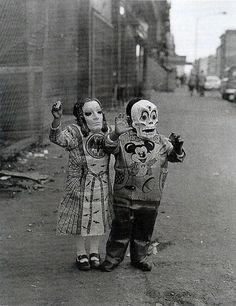 Halloween : des costumes vintage VRAIMENT freaky