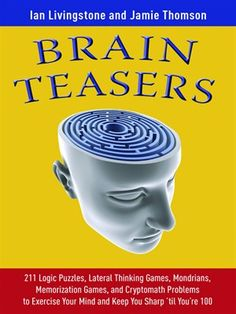 Click this cover for a(n) eBook sample of Brain Teasers.