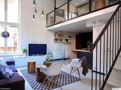 So cute and modern -CC Living Room Inspiration, Interior Inspiration, Ideas Cabaña, Simply Home, Muebles Living, Interior Architecture, Interior Design, Sweet Home Alabama, Modern Loft