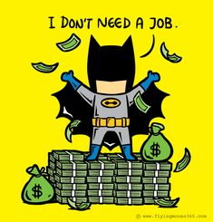 What If Superheroes Had Part-Time Jobs?