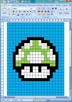 Mario 1up quilt!!!