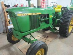 John Deere 4020 Diesel - ONLINE ONLY AUCTION - Ending March 03, 2015. Dallas, Wisconsin.