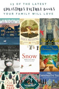 of the Latest Christmas Picture Books You'll Love. New Christmas picture books might be my favorite thing about the Christmas season. Here's a great list of newly published Christmas picture books and why your home library is so important. Childrens Christmas Books, A Christmas Story, Kids Christmas, Childrens Books, Kid Books, Christmas Gifts, Xmas, Great Books To Read, Book Lists