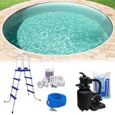 Bildergebnis f r poolgestaltung mit pflanzen pool for Rundpool set stahlwand