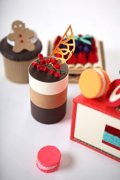 Dessert by ji hee lee, via Behance