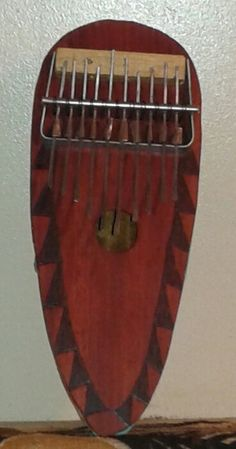 """African-style gourd-based """"thumb piano"""" (kone)            FREE DOMESTIC SHIPPING by PanAfricanArts on Etsy"""