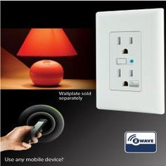 GE Z-Wave Wireless Lighting Control Duplex Receptacle - Electrical Outlets - Amazon.com