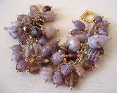 Purple Hues Charm Bracelet | Flickr - Photo Sharing!