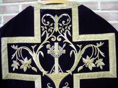 Antique chasuble - detail (my collection)