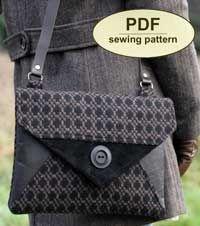 Blakeney Clutch Bag Pattern by Charlies Aunt