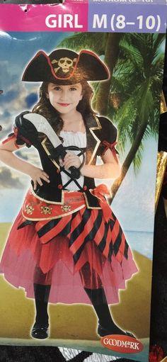 Girls Costume Pirate Size 8 to 10 Renaissance Youth Size Medium Dress Halloween    eBay