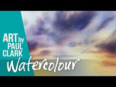 How to paint skies in watercolour by Paul Clark - YouTube Watercolour, Clouds, Sky, Youtube, Painting, Pen And Wash, Heaven, Watercolor Painting, Heavens