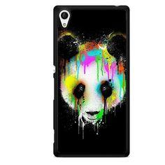 Panda Watercolor TATUM-8395 Sony Phonecase Cover For Xperia Z1, Xperia Z2, Xperia Z3, Xperia Z4, Xperia Z5