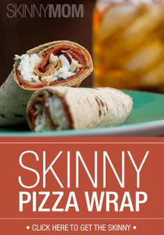 This wrap is a quick and tasty treat perfect for a simple lunch. Delicious!