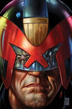 Cartoons And Heroes — alexhchung:   Predator Vs. Judge Dredd Vs. Aliens...