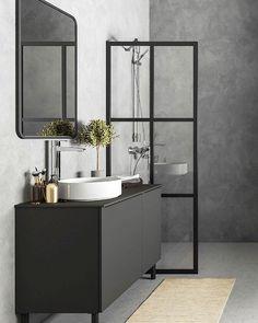 Dream Bathrooms, Beautiful Bathrooms, Bathroom Inspiration, Home Decor Inspiration, Cafe House, Bathroom Goals, Downstairs Bathroom, Home Design Plans, Bathroom Interior Design