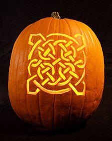 Celtic Knot Pumpkins  http://www.marthastewart.com/266362/celtic-knot-pumpkins