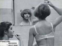 MARLENE JOBERT MASCULIN-FEMININ 1966 GODARD