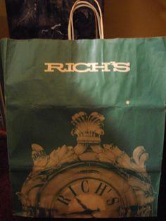 Rich's shopping bag