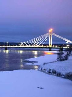 Rovaniemi, Lapland, Finland: The Official Hometown of Santa Claus.