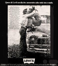 Anúncio Levi's - 1974