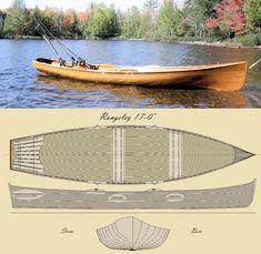 'The Rangeley 17' Row Boat Kit