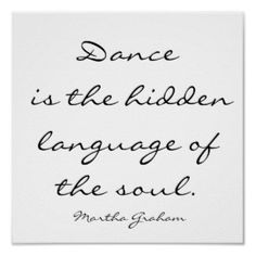 Another dance quote