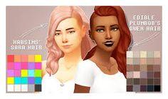 Billedresultat for sims 4 cc maxis match pastel hair Sims 4 Cc Skin, Sims 4 Mm Cc, Sims Four, Maxis, Pelo Sims, Sims 4 Cc Makeup, Sims 4 Characters, Sims 4 Cas, Sims 4 Update