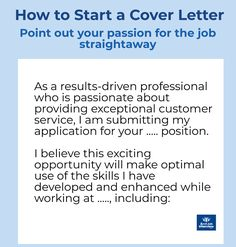 Best Cover Letter, Cover Letter Tips, Cover Letters, Cover Letter For Resume, Cover Letter Template, Job Cover Letter Examples, Interview Answers, Job Interview Questions, Job Interview Tips